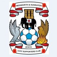 Bed&Nun CCFC Supporters